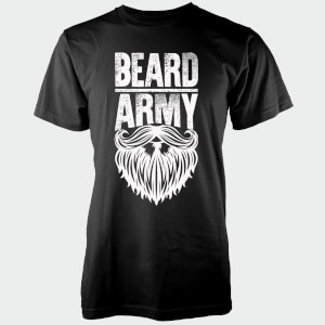 Beard Army Men's Black Insignia T-Shirt