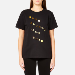 Marc Jacobs Women's New York T-Shirt - Black