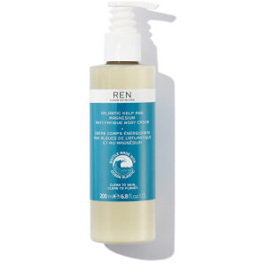 REN Skincare Atlantic Kelp and Magnesium Anti-Fatigue Body Cream 200ml