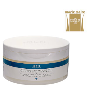 REN Skincare Atlantic Kelp and Magnesium Salt Anti-Fatigue Exfoliating Body Scrub 330ml: Image 2