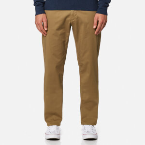 GANT Men's Regular Twill Chinos - Sepia Khaki