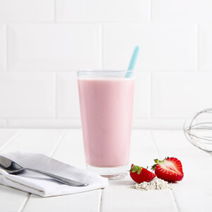 Meal Replacement Low Sugar Strawberry Smoothie