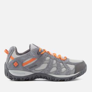 Columbia Men's Redmond Waterproof Walking Shoes - Steam/Heatwave