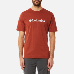 Columbia Men's CSC Basic Logo Short Sleeve T-Shirt - Rusty/Sea Salt