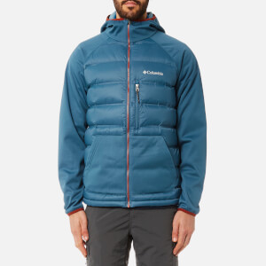 Columbia Men's Ramble Down Hybrid Jacket - Blue Heron Rusty