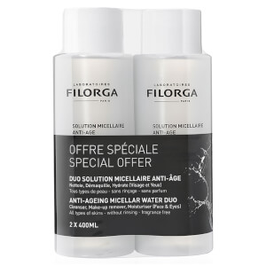 Filorga Micellar Water Duo 2 x 400ml (Worth £40)