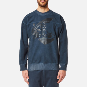 Vivienne Westwood Anglomania Men's Square Sweatshirt - Navy