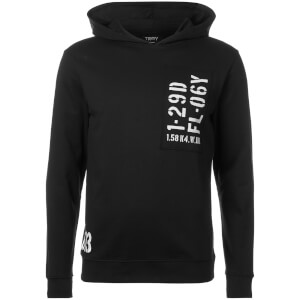 Troy Men's Cord Hoody - Black