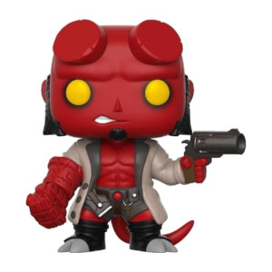 Hellboy with Jacket Pop! Vinyl Figure