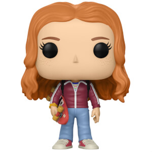 Figurine Pop ! Max avec Skateboard - Stranger Things
