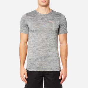 Superdry Sport Men's Core Train Spacedye T-Shirt - Light Grey Grit