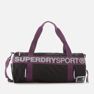 Superdry Sport Women's Fitness Barrel Bag - Black