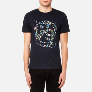 PS by Paul Smith Men's Floral Logo T-Shirt - Navy