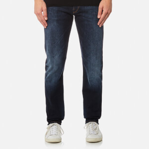 PS by Paul Smith Men's Tapered Fit Jeans - Washed Blue