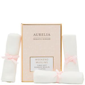 Aurelia Skincare Weekend Muslins
