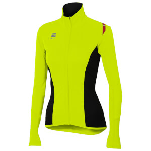 Sportful Women's Fiandre Light NoRain Top - Yellow Fluo