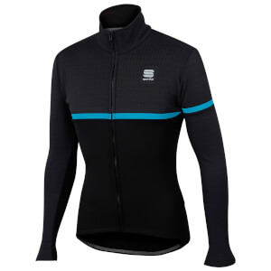 Sportful Giara SoftShell Jacket - Black/Blue Denim