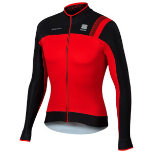 Sportful BodyFit Pro Thermal Jersey - Red/Black/Fire Red