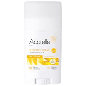 Acorelle Organic Ylang and Palmarosa Deodorant Balm 40 g