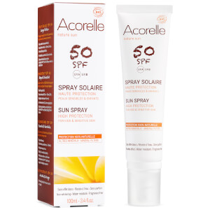 Acorelle Kids' Organic SPF 50 Sun Spray 100 ml