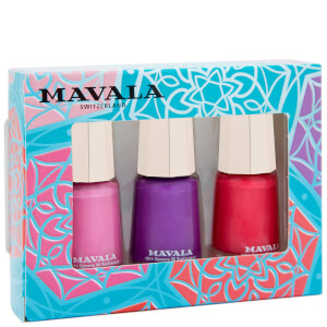 Mavala Colour Inspiration Nail Varnish Trio (Worth £13.50) (Free Gift)