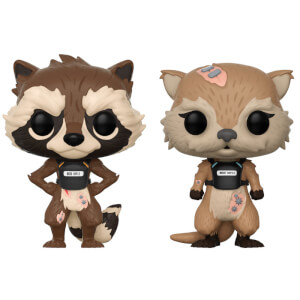 Guardians of the Galaxy Tell Tales Rocket & Lylla 2-pack Pop! Vinyl Figures