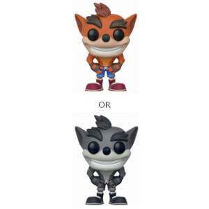 Crash Bandicoot mit Chase Pop! Vinyl Figur