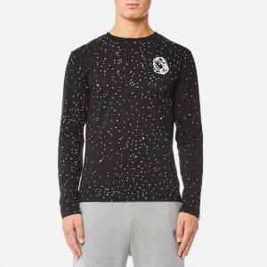Billionaire Boys Club Men's Galaxy Long Sleeve T-Shirt - Black