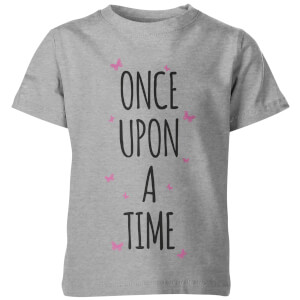 Once Upon A Time Kid's Grey T-Shirt