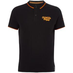 Crosshatch Men's Morristown Polo Shirt - Black