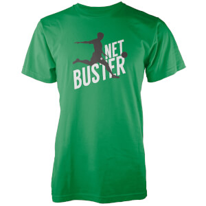 Net Buster Men's Green T-Shirt
