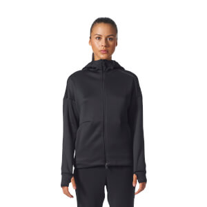 adidas Women's ZNE Heat Training Hoody - Black