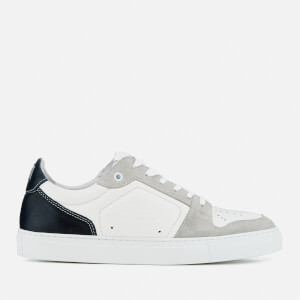 AMI Men's Low Top Trainers - Navy