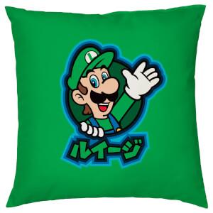 Nintendo Luigi Kanji Cushion Cover
