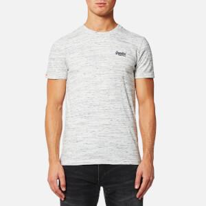 Superdry Men's Orange Label Vintage T-Shirt - Light Smoked Grit