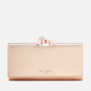 Ted Baker Women's Marta Crystal Pearl Bobble Matinee Purse - Rose Gold