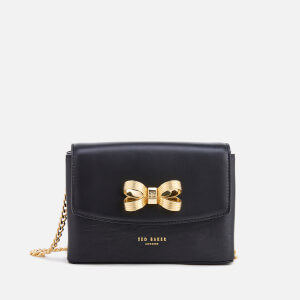 Ted Baker Women's Leorr Looped Bow Mini Cross Body Bag - Black