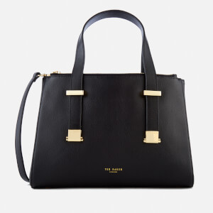Ted Baker Women's Ameliee Adjustable Handle Small Grain Tote Bag - Black