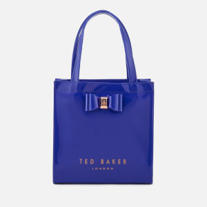 Ted Baker Women's Jenacon Bow Detail Small Icon Bag - Bright Blue