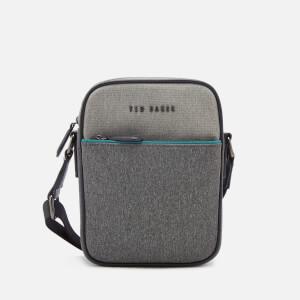 Ted Baker Men's Niamh Core Nylon Flight Bag - Grey