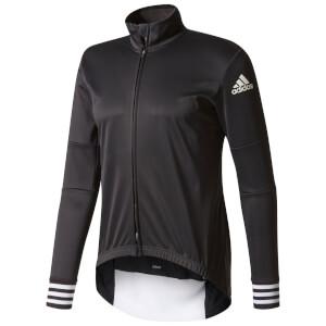 adidas Men's Adistar Long Sleeve Winter Jersey - Black