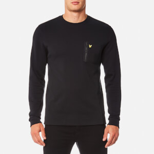 Lyle & Scott Men's Zip Pocket Sweatshirt - True Black
