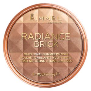 Polvo bronceador Radiance Brick de Rimmel 12 g - 02