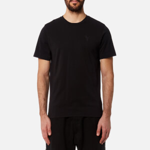 Y-3 Men's Short Sleeve Crew Neck Front T-Shirt - Black