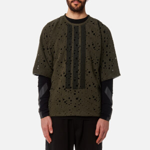 Y-3 Men's Wool Jersey T-Shirt - Black Olive
