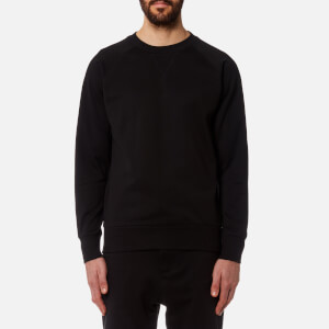 Y-3 Men's Classic Sweatshirt with Graphic Back - Black