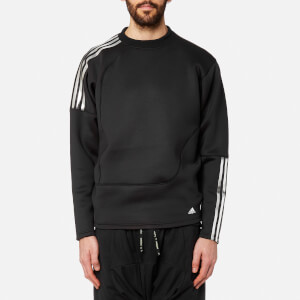 adidas by kolor Men's Spacer Crew Neck Sweatshirt - Black