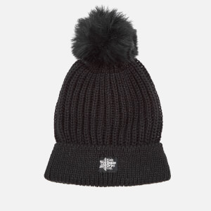 Superdry Women's Aries Sparkle Bobble Hat - Black