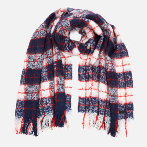 Superdry Women's Super Orkney Scarf - Navy/Red/White