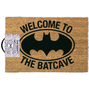 Paillasson Logo Batman Welcome To The Batcave